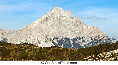 Monte Antelao, South Tirol, Dolomites mountains, Italy -...