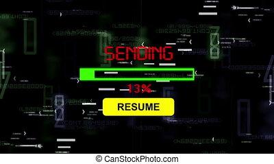 Sending resume online