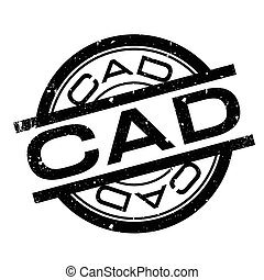 CAD rubber stamp. Grunge design with dust scratches. Effects...