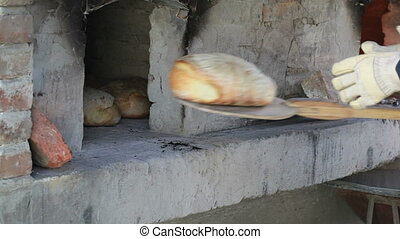 Warm Fresh Traditional Bread Take Out - Take Out Bread with...