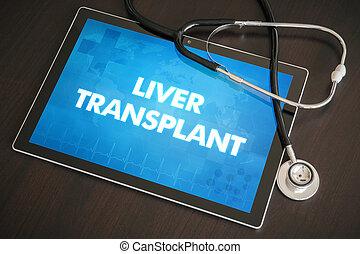 Liver transplant (liver disease related) diagnosis medical...