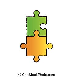 puzzle jigsaw collaboration image