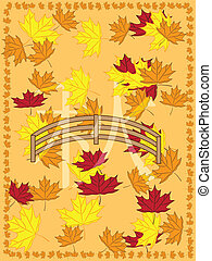 autumn picture in japanese slyle - autumnr picture withmaple...