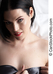 Sexy adult woman - Sexy naked young caucasian adult woman...
