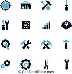 Setting icons set