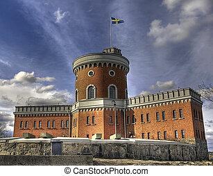 Citadel. - Citadel on Kastellholmen, Stckholm.