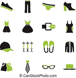 Clothes Icons set - Clothes simply icons for web and user...