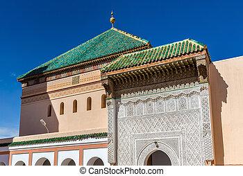Zaouia de Sidi Bel Abbes in Marrakesh, Morocco - Zaouia de...