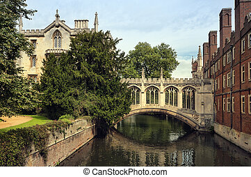 The Bridge of Sigh at  Saint John's College, Cambridge.
