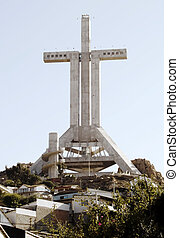 Big cross - Third Milennium Cross in Coquimbo, Chile