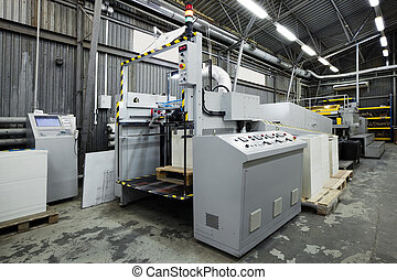 equipment for a print - The equipment for a print in a...