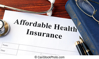Affordable health insurance form