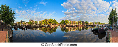 180 Amstel panorama - Beautiful panoramic panorama of the...