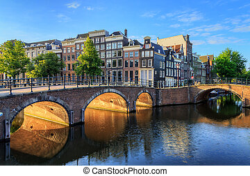 Golden arch canal - Beautiful view of the iconic UNESCO...
