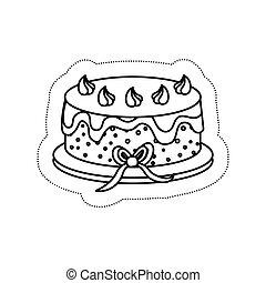 sweet cake icon