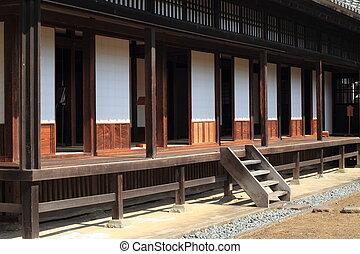 Kodokan (clan school of Mito domain) in Mito, Japan