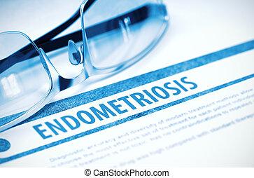Medicina,  Endometriosis, Ilustración,  3D