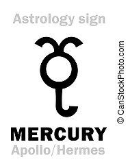 Astrology: planet MERCURY - Astrology Alphabet: MERCURY...