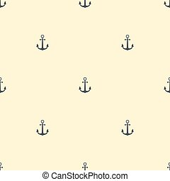 Anchor vintage pattern sea naval background symbol emblem label collection