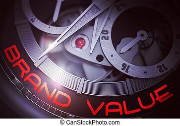 ブランド, 男性, 腕時計, 値, メカニズム, 3D
