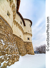 Castle Veliki Tabor in Croatia - Detail of the old castle...