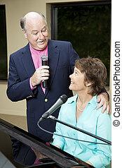 Senior Singer Serenade