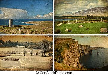 landscape and seascape tourim west coast ireland - photo...
