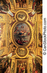 Castle of Versailles, France - Ceiling