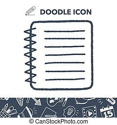 doodle notebook