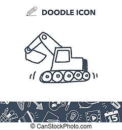 Doodle Excavator