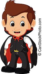 cute dracula cartoon
