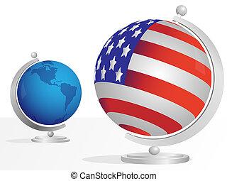 Two globe