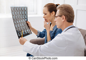Competent medical expert explaining diagnosis - This must be...