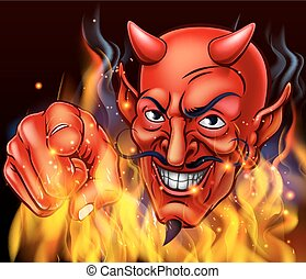 Devil in Hell Fire