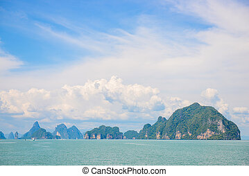 Beautiful Island in Phang Nga Bay, Thailand