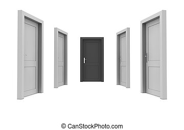 Choose the Black Door