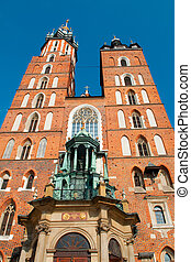 St Marys Basilica in Cracow