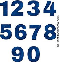 Numbers Dark Sky