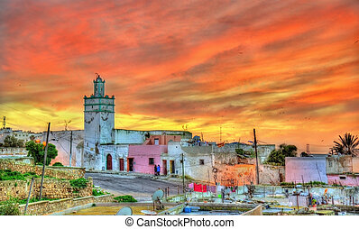 Cityscape of Safi, a city in western Morocco on the Atlantic...