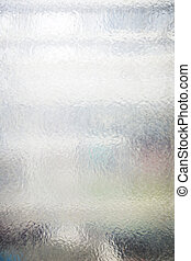 semi transparent structural glass pane for backgrounds