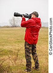 Wild life professional photographer