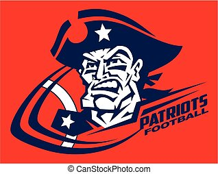patriots football - heroic patriots football player team...