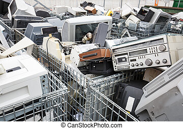 Electronic devices dumpsite