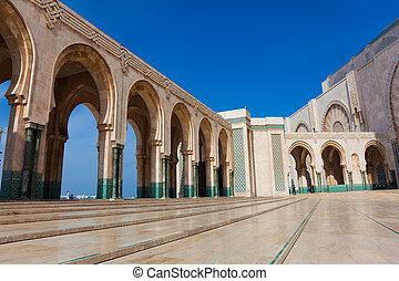 Hassan II mosque, Casablanca, Morocco - Hassan II mosque,...