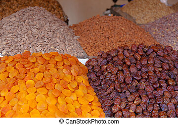 Nuts in Marrakech, Morocco