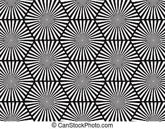 Black and white abstract line background