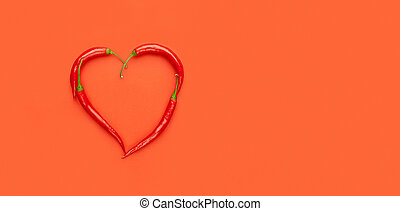 peppers heart, pop art, valentines day