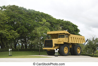 Large haul truck ready for big job in a mine
