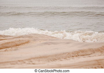 Seaside Heights Waves - The peaceful waves are seen in the...