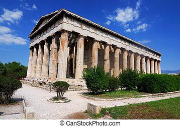templo, (Hephaestus), Hephaistos
